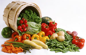 fresh Virginia Grown vegetables